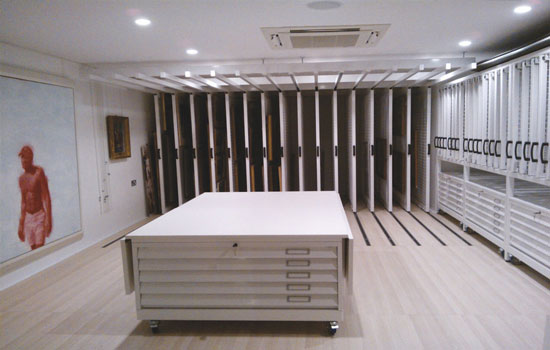 Art Gallery Storage