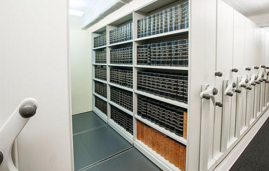 Mobile Book Storage