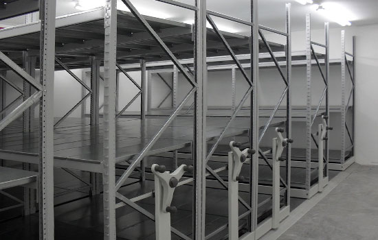 Mobile Longspan with Steel Decks