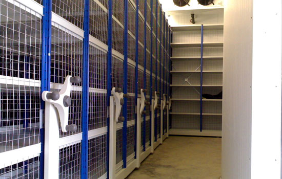 Secure Mobile Shelving