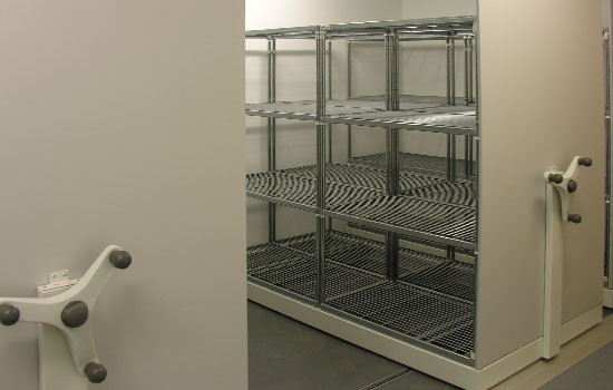 Wire Shelving with End Panels