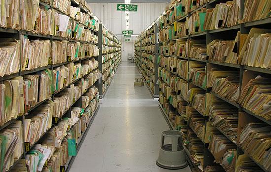 Medical Record Storage