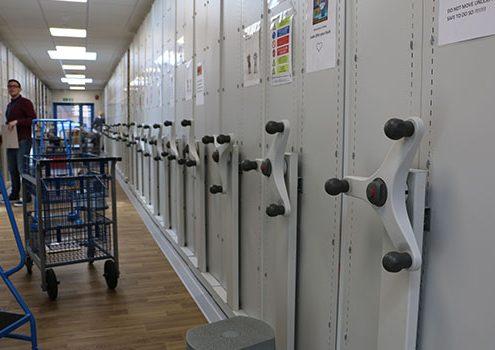 Medical Record Racking